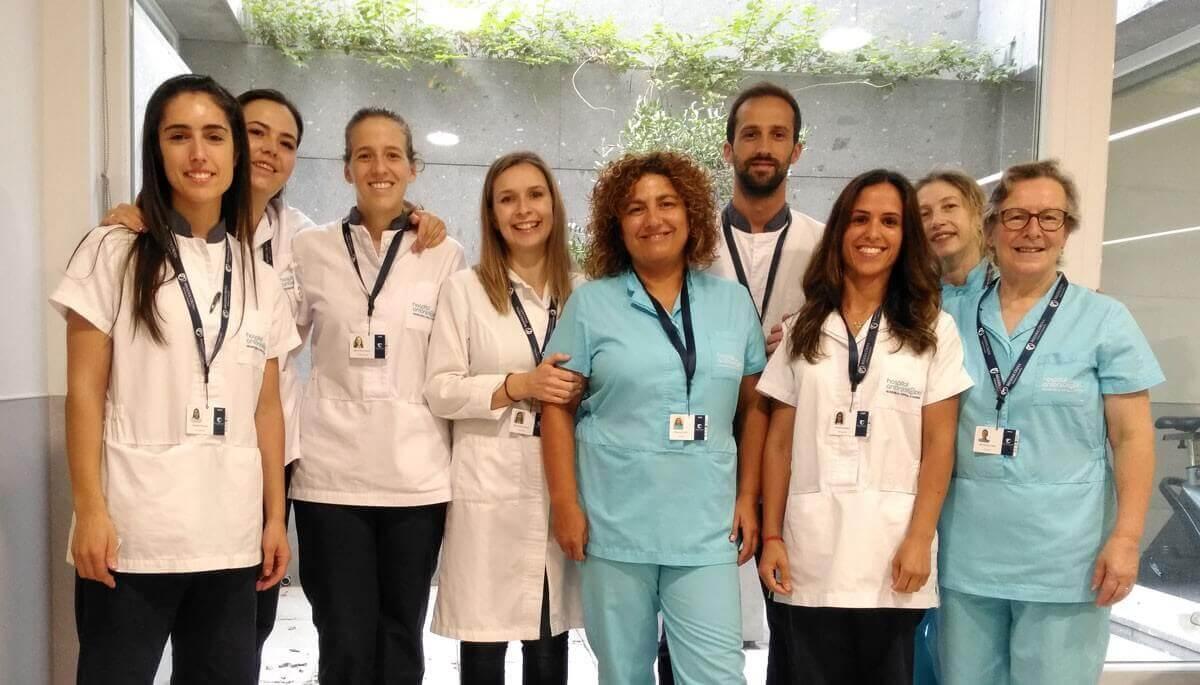 A Unidade de Medicina Física e de Reabilitação