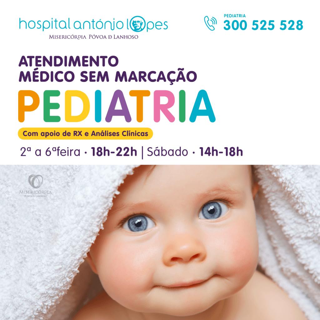 Pediatria - Atendimento Médico sem Marcação